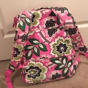 6c77a7b285 Vera Bradley Bags - Vera Bradley Laptop Backpack - Priscilla Pink